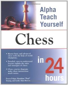 Alpha Teach Yourself Chess Book Cover Graphic