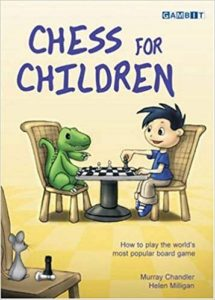 Chess For Children Book Cover Graphic