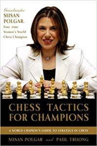 Chess Tactics for Champions Book Cover Graphic