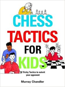 Chess Tactics for Kids Book Cover Graphic