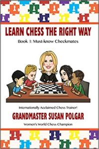 Learn Chess the Right Way Book 1 Must-Know Checkmates Book Cover Graphic
