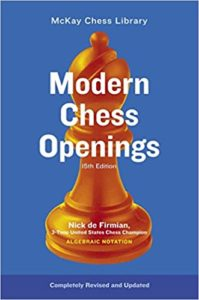 Modern Chess Openings Book Cover